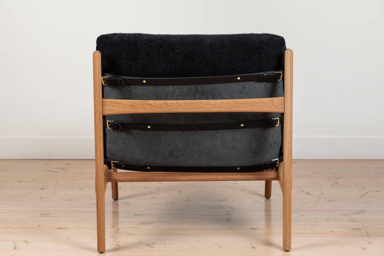 Pair of Maker's Lounge Chairs by Lawson-Fenning For Sale 2