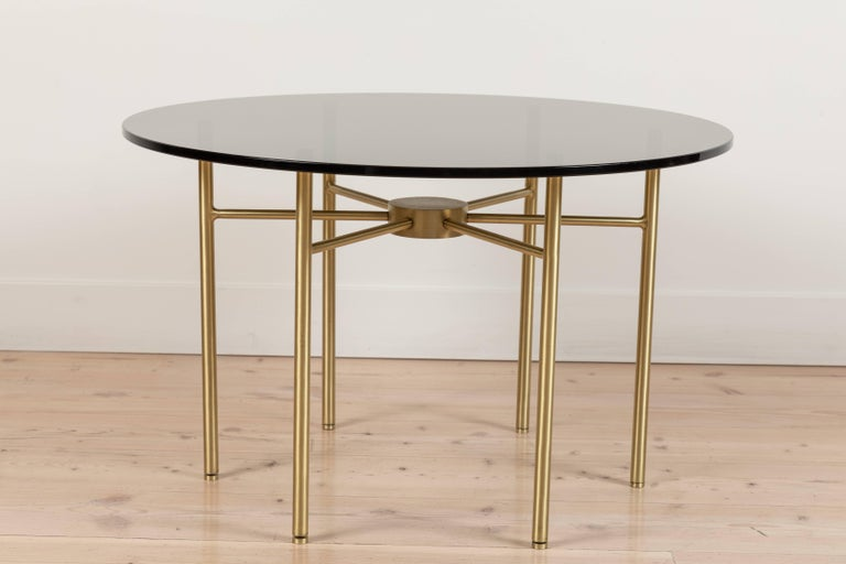 Mid-Century Modern Radial Side Table by Lawson-Fenning For Sale