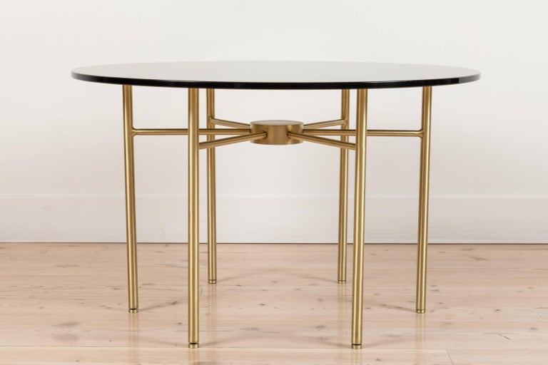 American Radial Side Table by Lawson-Fenning For Sale