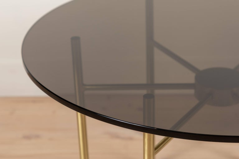 Contemporary Radial Side Table by Lawson-Fenning For Sale