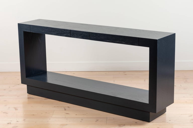Oak Palisades Console by Lawson-Fenning For Sale