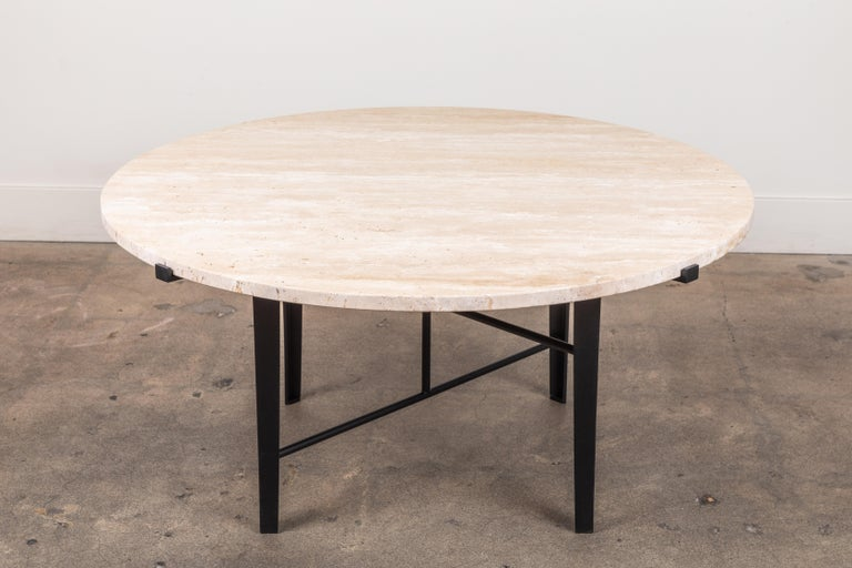Mid-Century Modern Montrose Coffee Table, Round by Lawson-Fenning For Sale