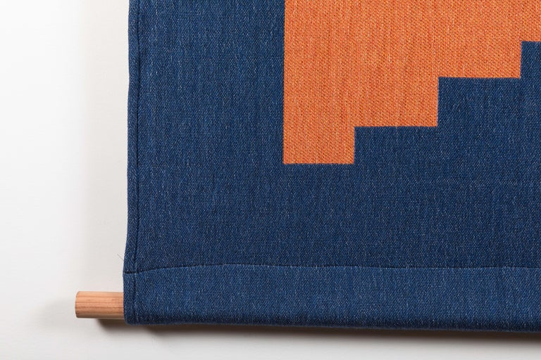 Mid-Century Modern Architecture Tapestry by Studio Herron For Sale
