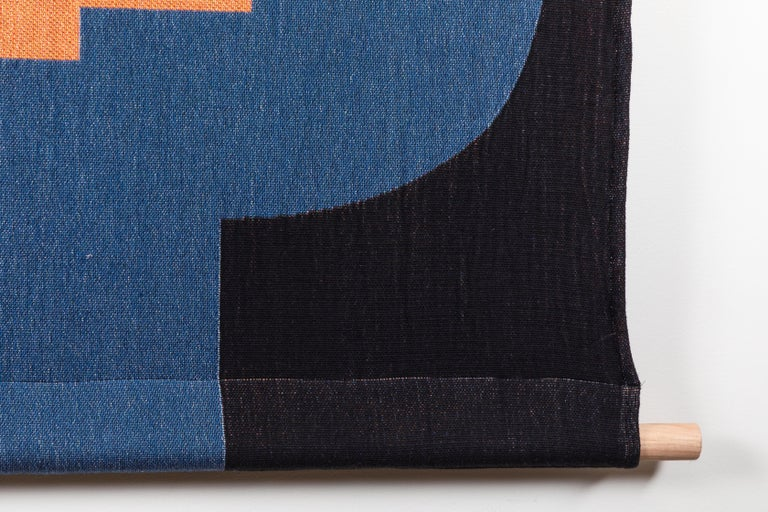 American Architecture Tapestry by Studio Herron For Sale