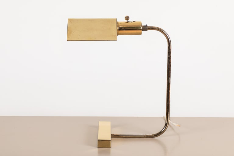 American Desk Lamp by Gerald Thurston For Sale