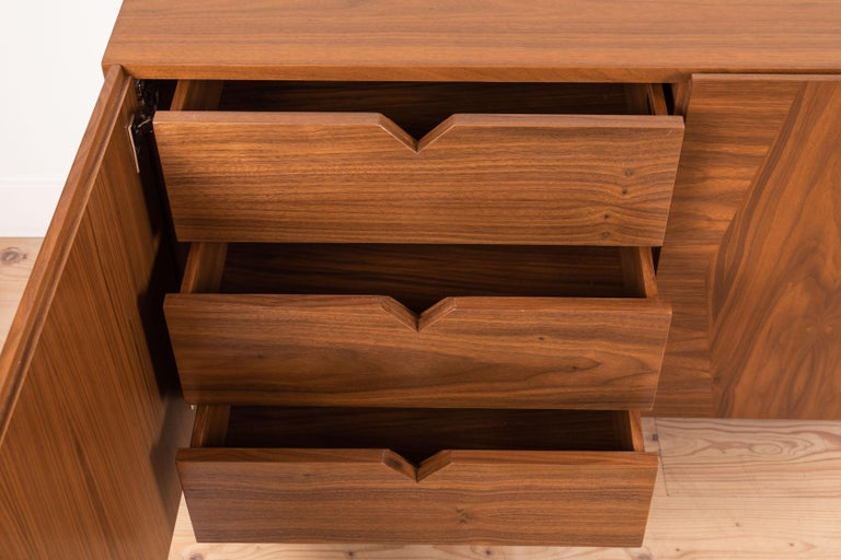 Contemporary 3-Door Bronson Cabinet by Lawson-Fenning For Sale