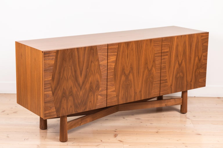 3-Door Bronson Cabinet by Lawson-Fenning For Sale 1