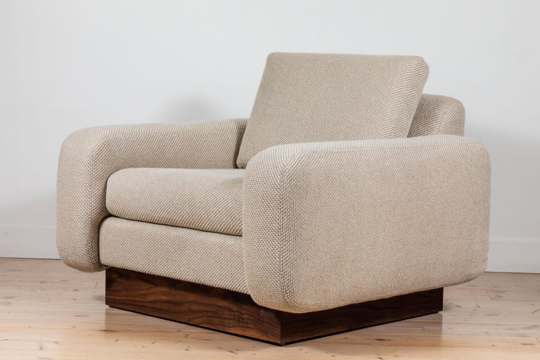 American Mesa Lounge Chair by Lawson-Fenning For Sale