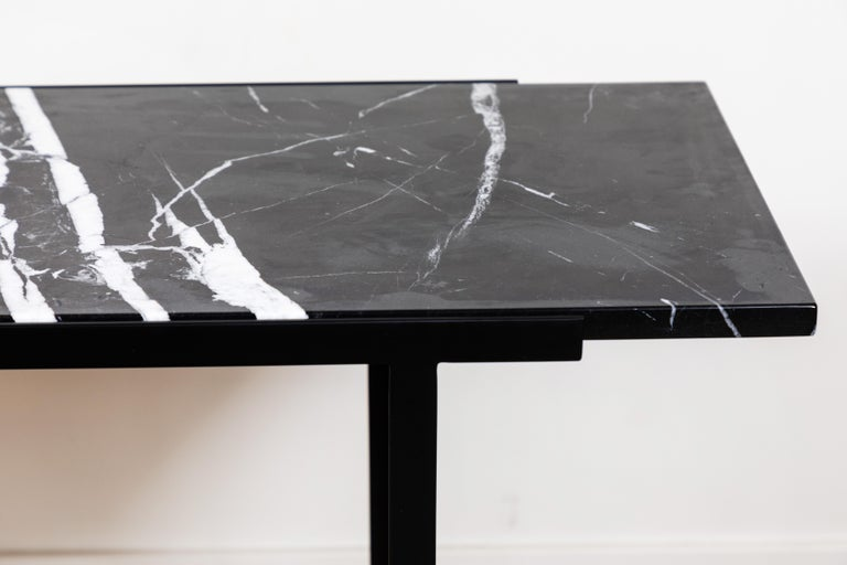 Marble Montrose Console Table by Lawson-Fenning For Sale
