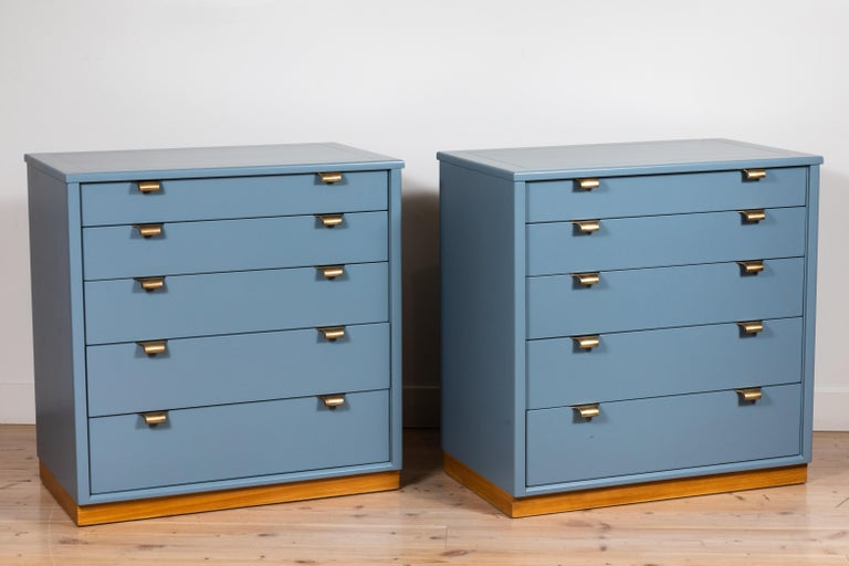 Pair of vintage chests by Edward Wormley for Drexel Precedent Line.