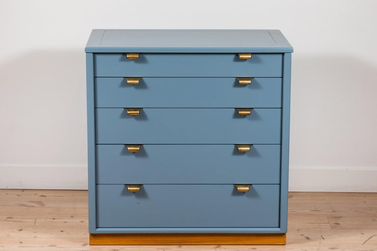 Mid-Century Modern Pair of Vintage Chests by Edward Wormley for Drexel Precedent Line For Sale