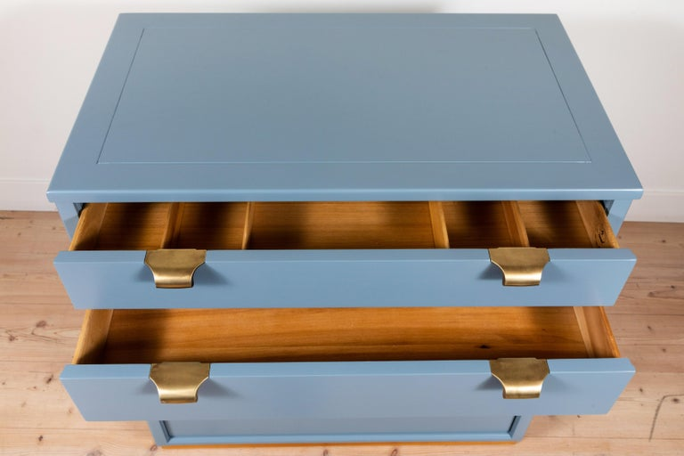 Mid-20th Century Pair of Vintage Chests by Edward Wormley for Drexel Precedent Line For Sale