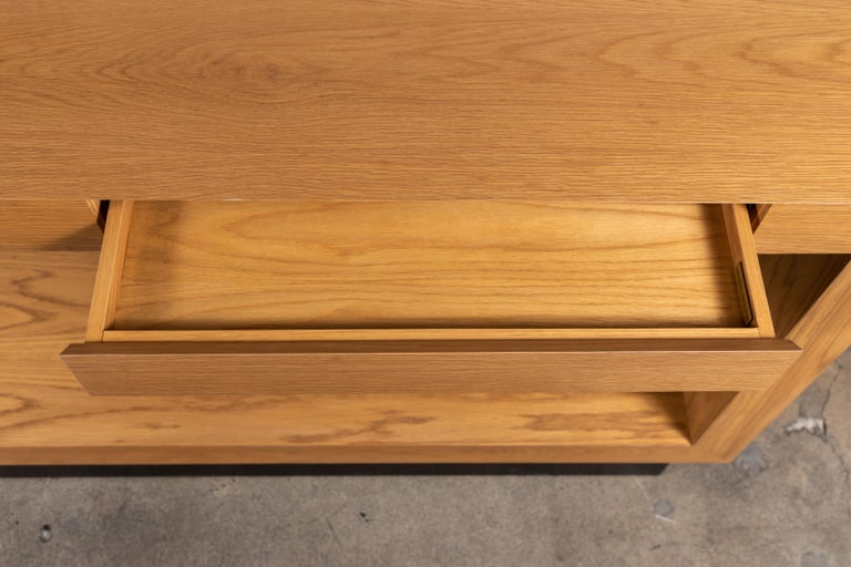 Palisades Console with Metal Inset Base by Lawson-Fenning In New Condition For Sale In Los Angeles, CA