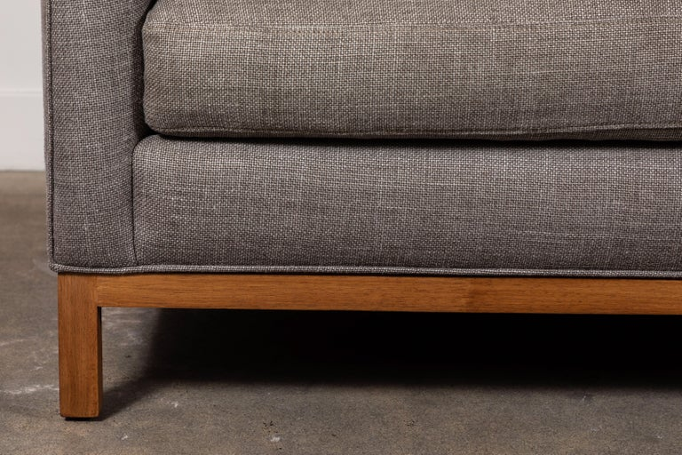 American Curved Back Sofa by Lawson-Fenning For Sale