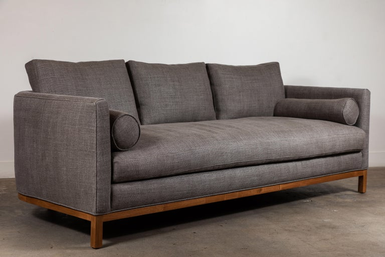 Curved Back Sofa by Lawson-Fenning For Sale 2