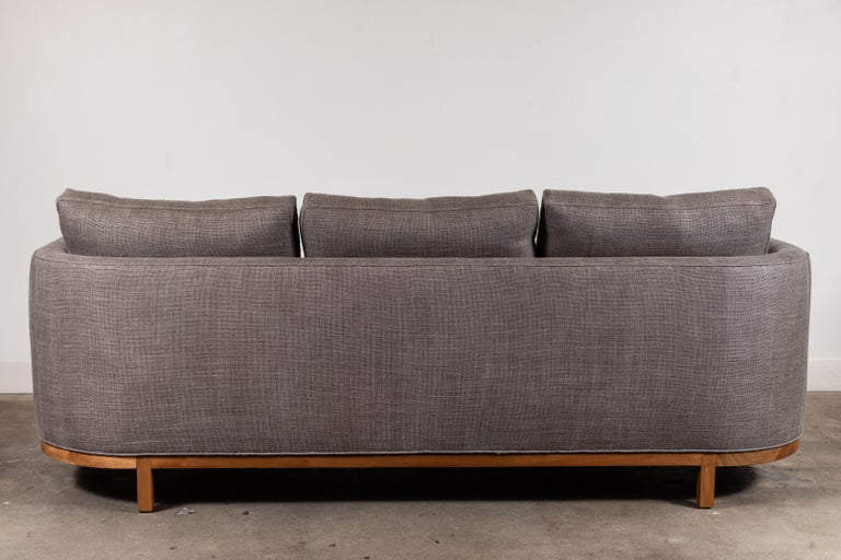 Curved Back Sofa by Lawson-Fenning For Sale 4