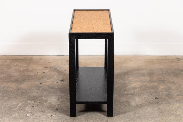 Rectangle Narrow Side Table by Lawson-Fenning For Sale 1