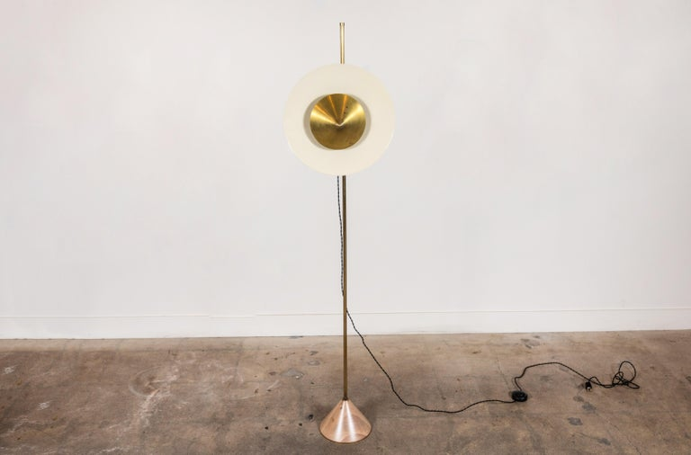 Mid-Century Modern Pruckel Floor Lamp by Lawson-Fenning For Sale