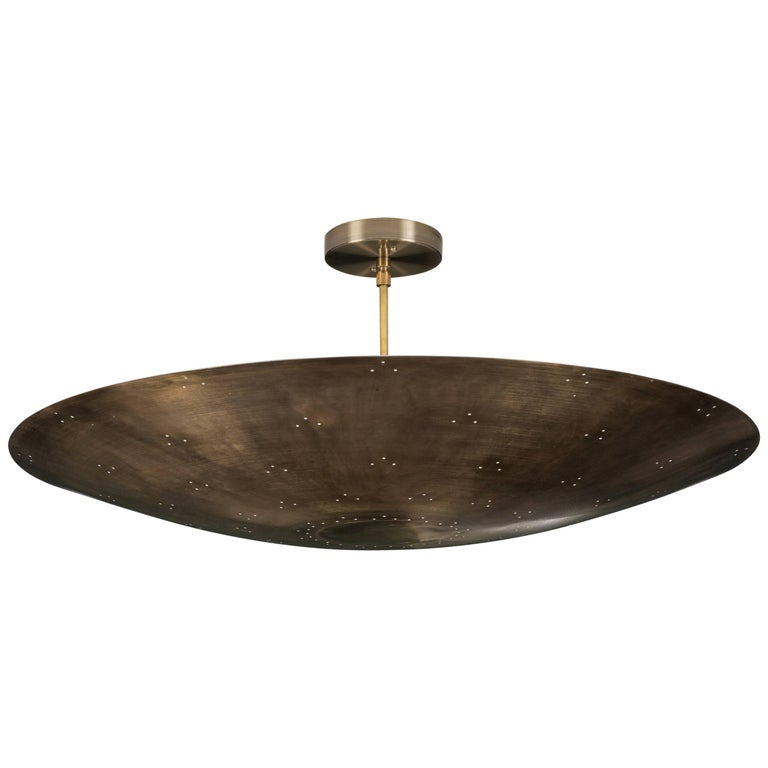 Alta Brass Dome Chandelier by Lawson-Fenning