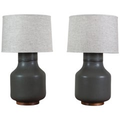 Pair of Simone Lamps by Stone and Sawyer for Lawson-Fenning