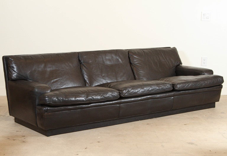 mexico sofa by arne norell for aneby sweden at 1stdibs. Black Bedroom Furniture Sets. Home Design Ideas