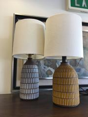 Etched Tile Lamps by Meredith Metcalf