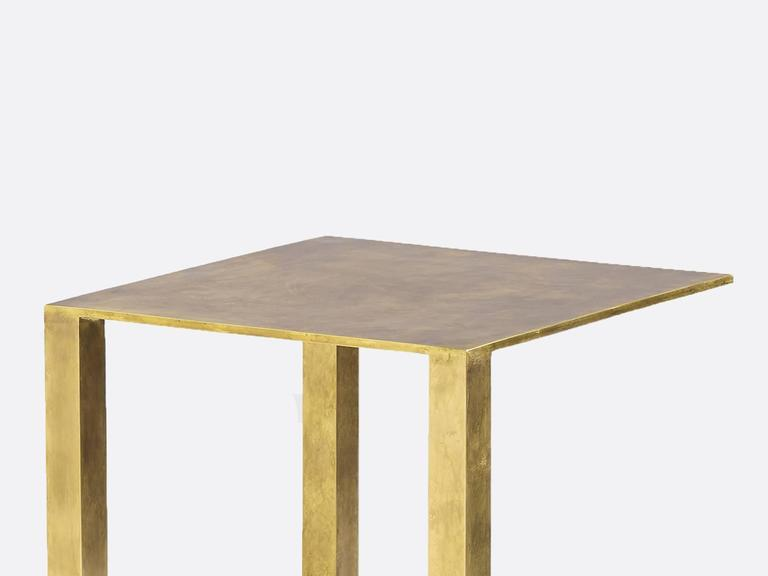Brian Thoreen Bronze Growth Side Table 2