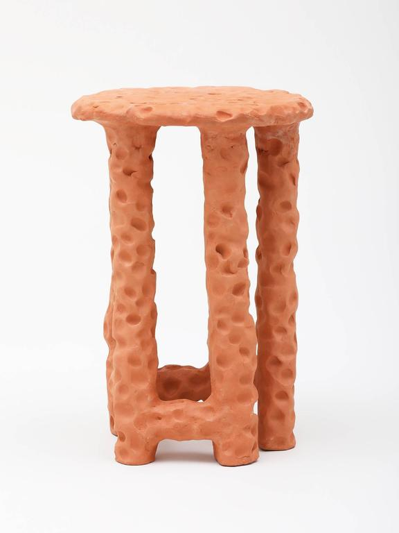 Chris Wolston Terracotta Side Table 2