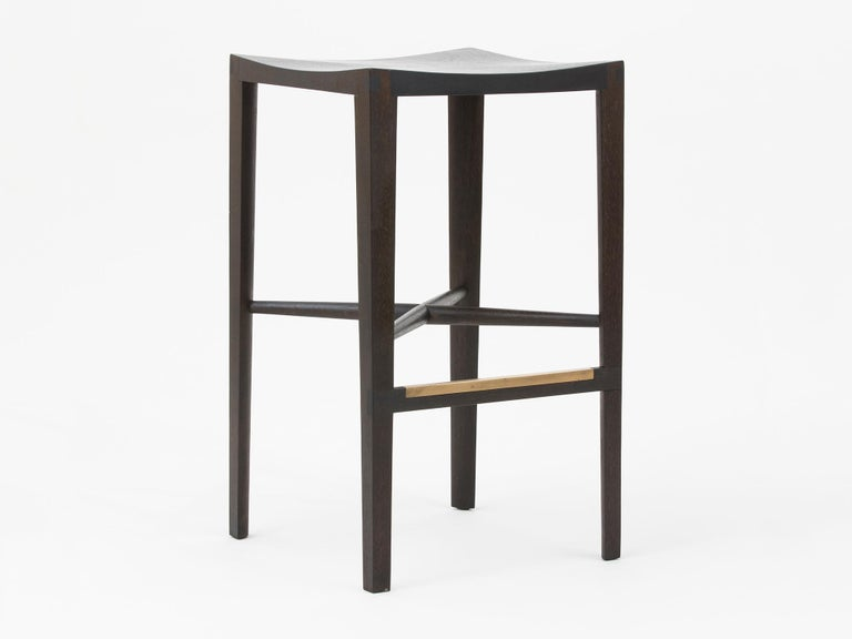 Quarter Round counter stool by Christopher Kurtz
