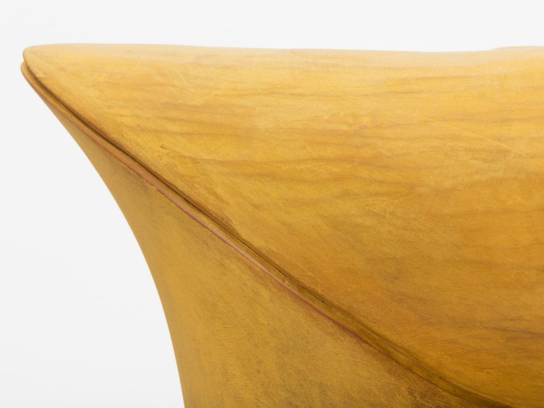 Large Hand-Carved Wood Sculpture by Christopher Kurtz In Excellent Condition For Sale In New York, NY