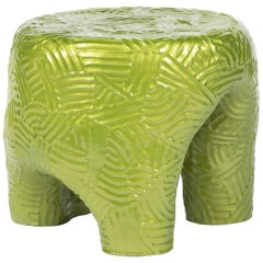 "Chris Wolston ""Condesa"" Ottoman or Side Table, in Stock"