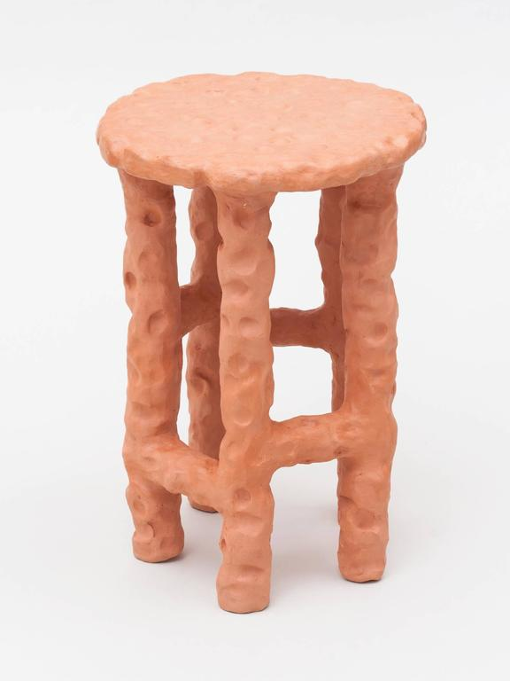 Terracotta Side Table by Chris Wolston 2