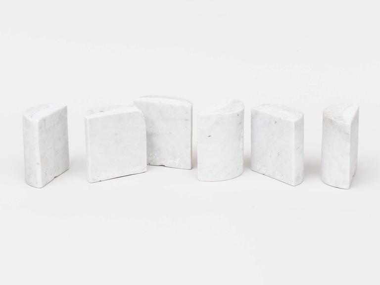 Italian Hanna Eshel Carrara Marble Sculpture For Sale