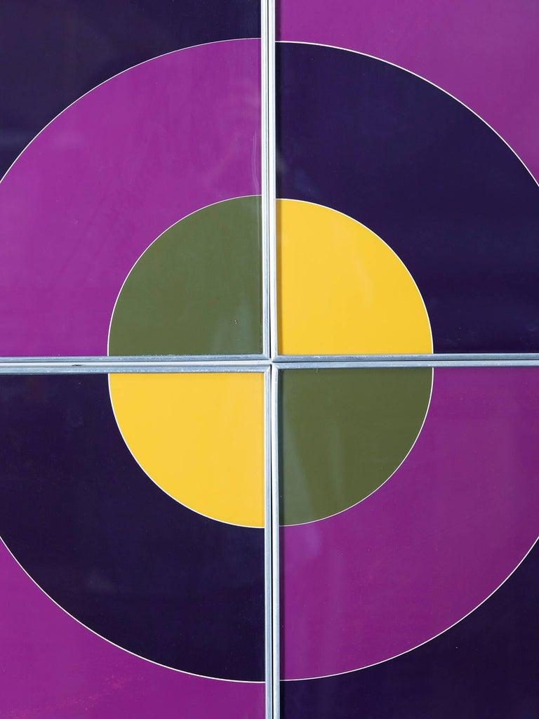 Target Quadriptych Framed Silkscreens For Sale At 1stdibs