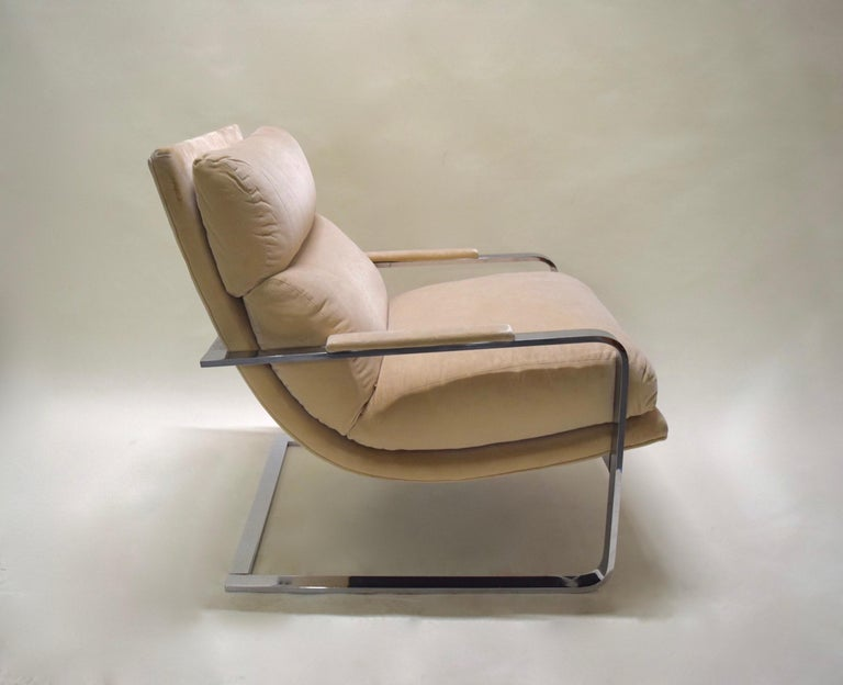 Lounge Chair by Milo Baughman for Thayer Coggin, USA, circa 1975 For Sale 2