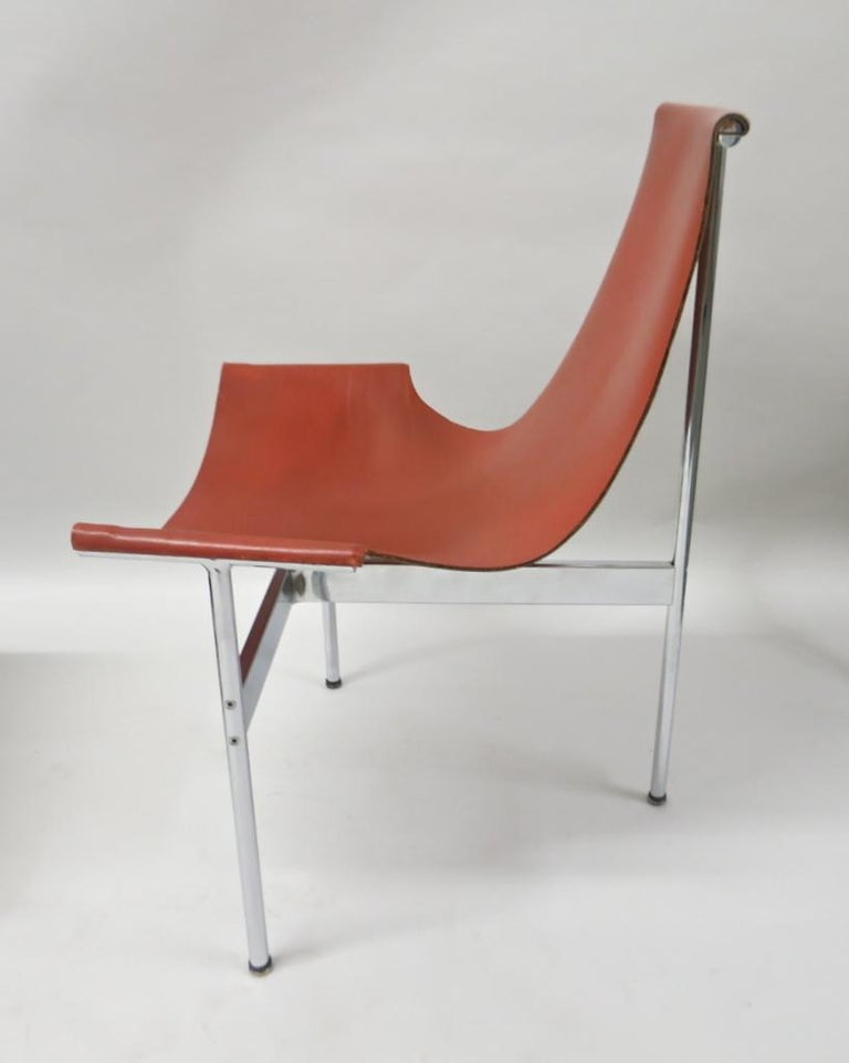 2 Original T-Chairs by Katavolos, Kelly, Littell for Laverne, 1967 For Sale 3