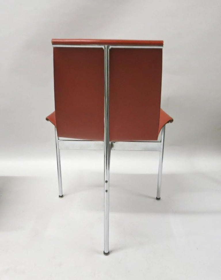 2 Original T-Chairs by Katavolos, Kelly, Littell for Laverne, 1967 For Sale 4