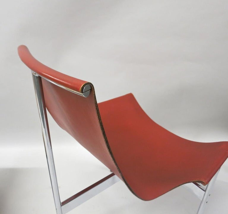2 Original T-Chairs by Katavolos, Kelly, Littell for Laverne, 1967 For Sale 5