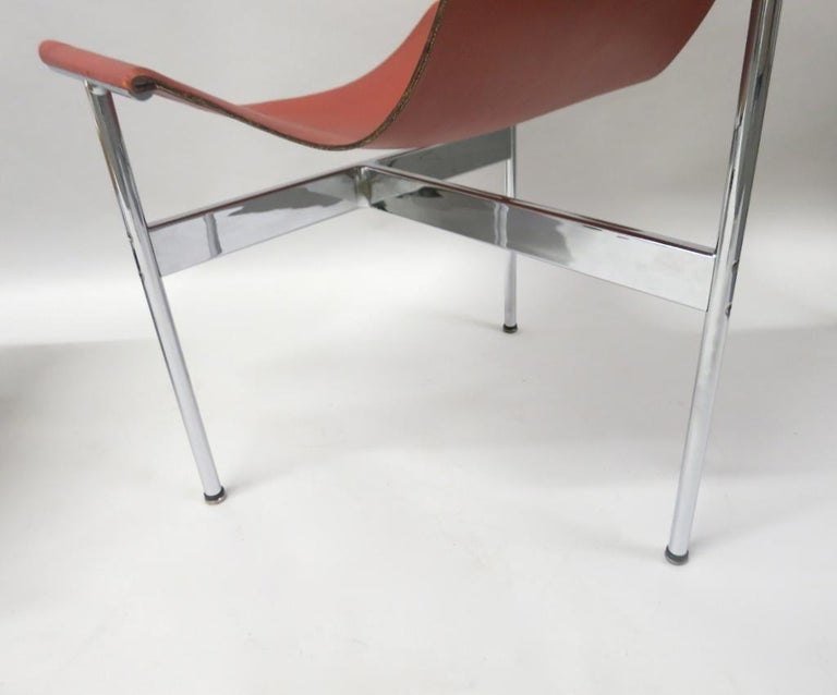 2 Original T-Chairs by Katavolos, Kelly, Littell for Laverne, 1967 For Sale 2