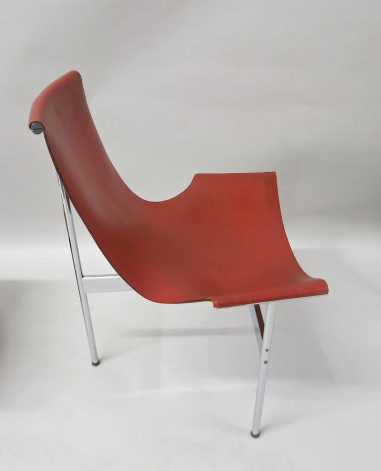 2 Original T-Chairs by Katavolos, Kelly, Littell for Laverne, 1967 For Sale 6