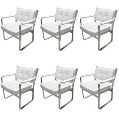 "Six ""Mondo"" Dining Chairs by Karl-Erik Ekselius for JOC Mobler, Sweden c.1960"