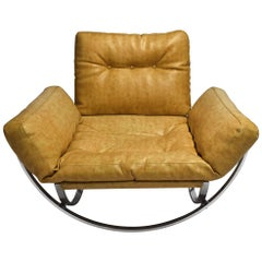 Lounge Chair by Lennart Bender for Charlton Co., Italy 1970s