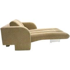 Chaise Longue / Lounge Chair by Vladimir Kagan, USA 1970s