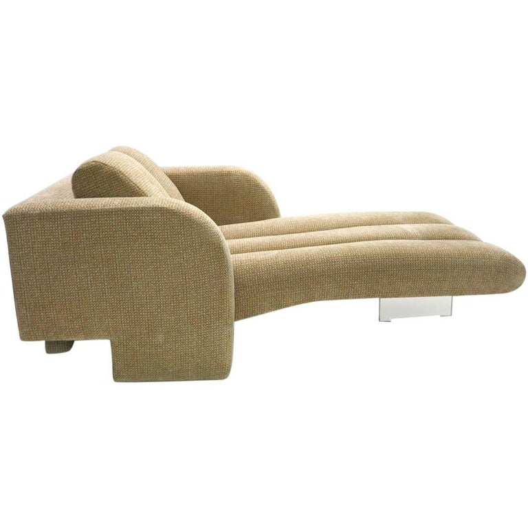 Chaise Longue / Lounge Chair by Vladimir Kagan, USA, 1970s
