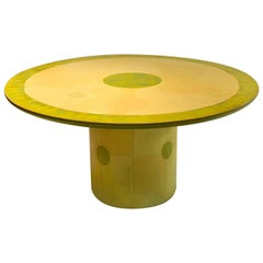 Round Dining or Centre Table by Randy Shull, USA, 1999