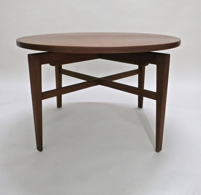 Rotating Table by Jens Risom circa 1950 Original