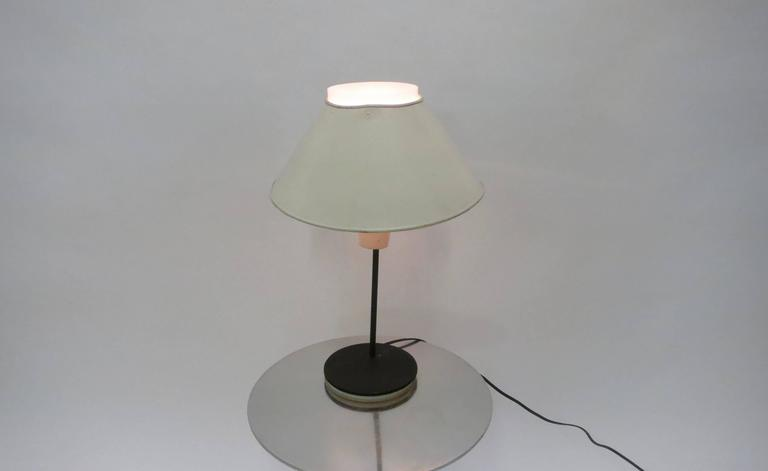 Desk Lamp by Boris Jean Lacroix for Cité Universitaire, 1950s Made in France In Good Condition For Sale In Jersey City, NJ