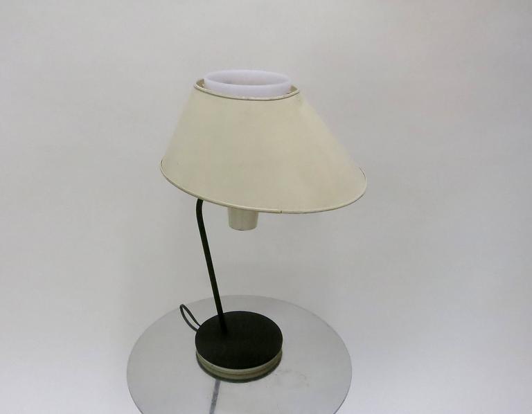 Mid-Century Modern Desk Lamp by Boris Jean Lacroix for Cité Universitaire, 1950s Made in France For Sale