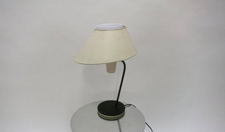 French Desk Lamp by Boris Jean Lacroix for Cité Universitaire, 1950s Made in France For Sale