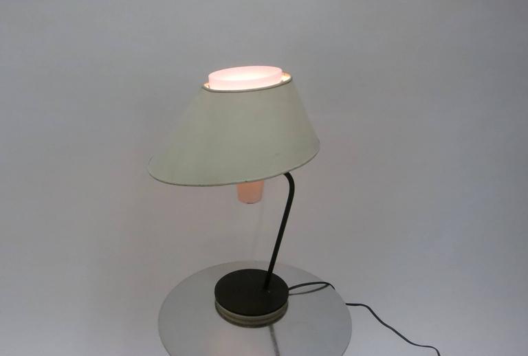 Mid-20th Century Desk Lamp by Boris Jean Lacroix for Cité Universitaire, 1950s Made in France For Sale